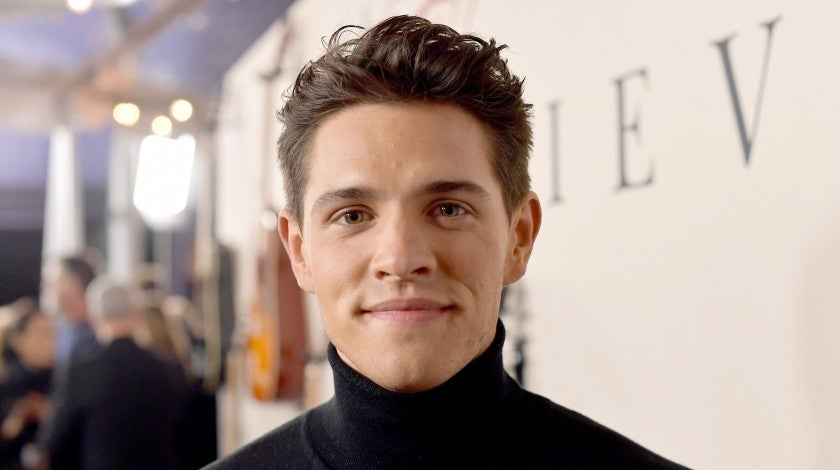 """Casey Cott at the premiere of Lionsgate's """"I Still Believe"""" in march 2020"""
