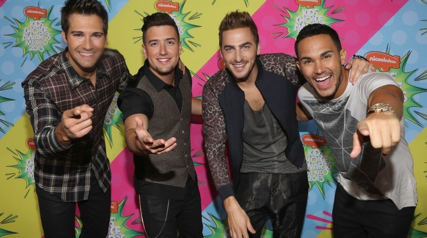 Big Time Rush in 2013 in mexico