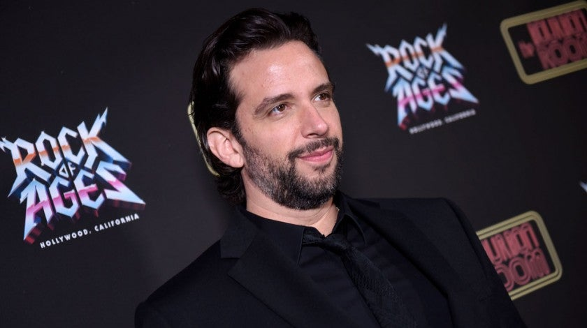 Nick Cordero attends Opening Night Of Rock Of Ages Hollywood At The Bourbon Room at The Bourbon Room on January 15, 2020