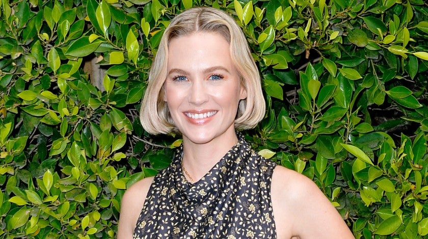 January Jones at Children's Hospital Los Angeles Make March Matter Fundraising Campaign