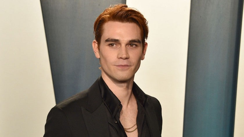 KJ Apa at the 2020 Vanity Fair Oscar Party
