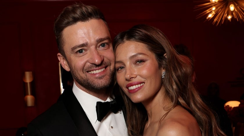 justin timberlake and jessica biel at 2018 emmys