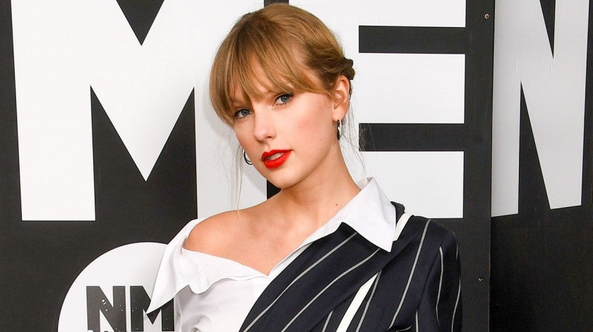 Taylor Swift at 2020 NME Awards in london