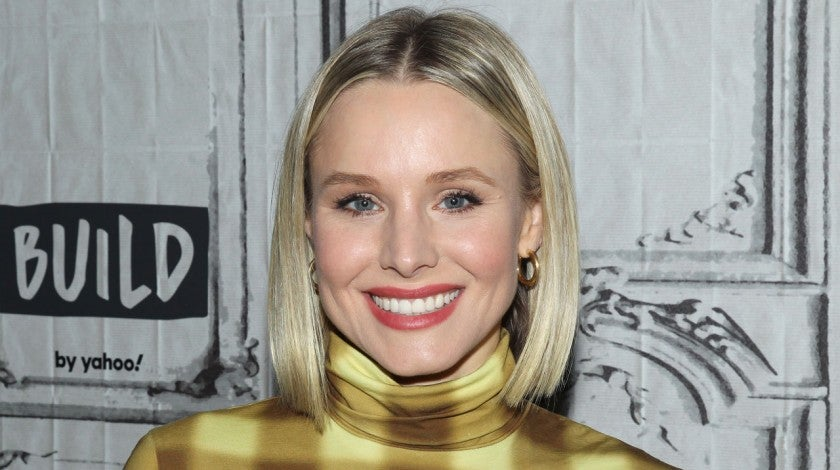 kristen bell at build studio in feb 2020
