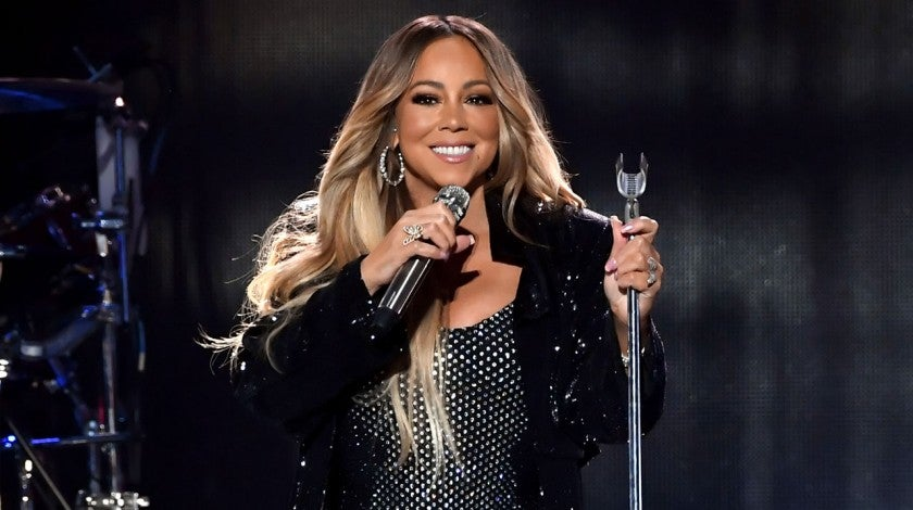 Mariah Carey performs onstage during the 2018 iHeartRadio Music Festival