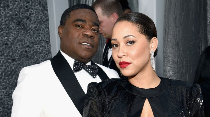 Tracy Morgan and Megan Wollover at the 25th Annual Screen Actors Guild Awards