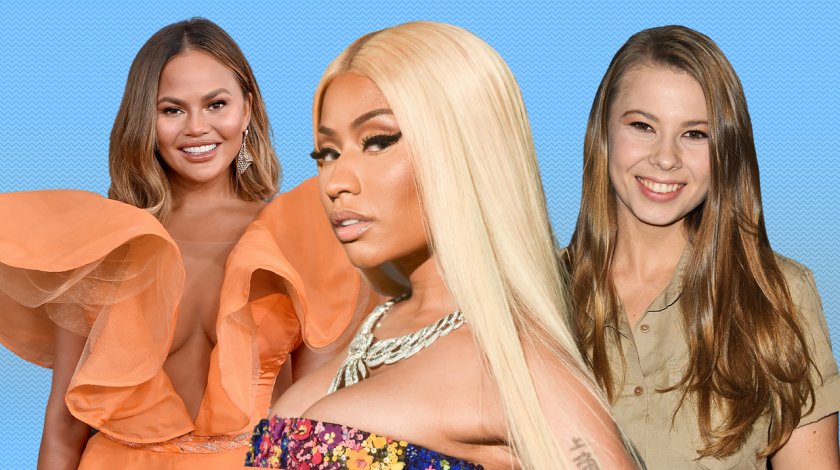 Expecting: Chrissy Teigen, Nicki Minaj, Bindi Irwin