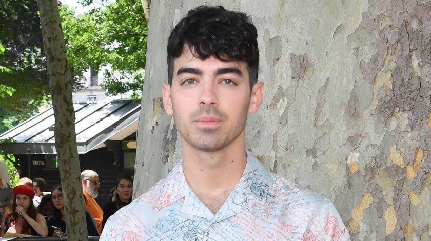 Joe Jonas at the Berluti Menswear Spring Summer 2020 show