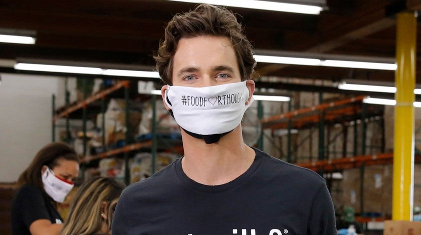 matt bomer volunteers with got milk