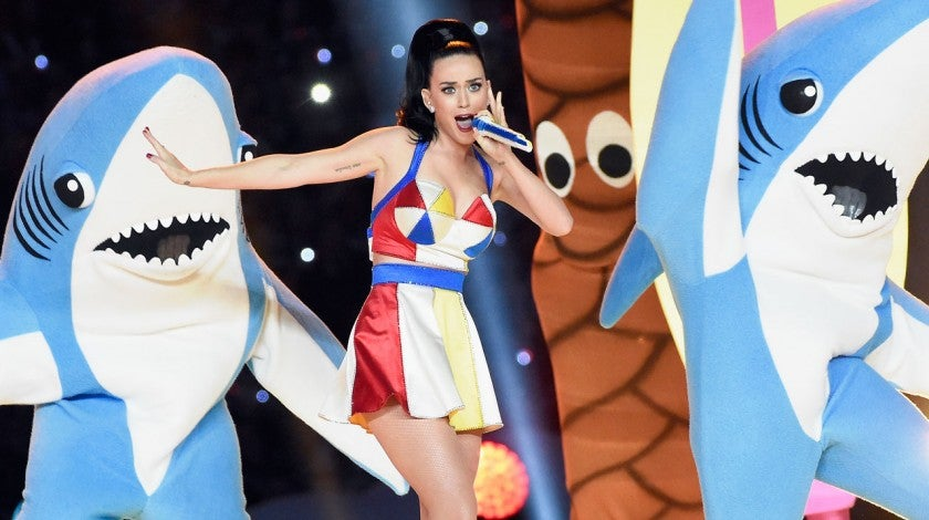 katy perry sharks super bowl