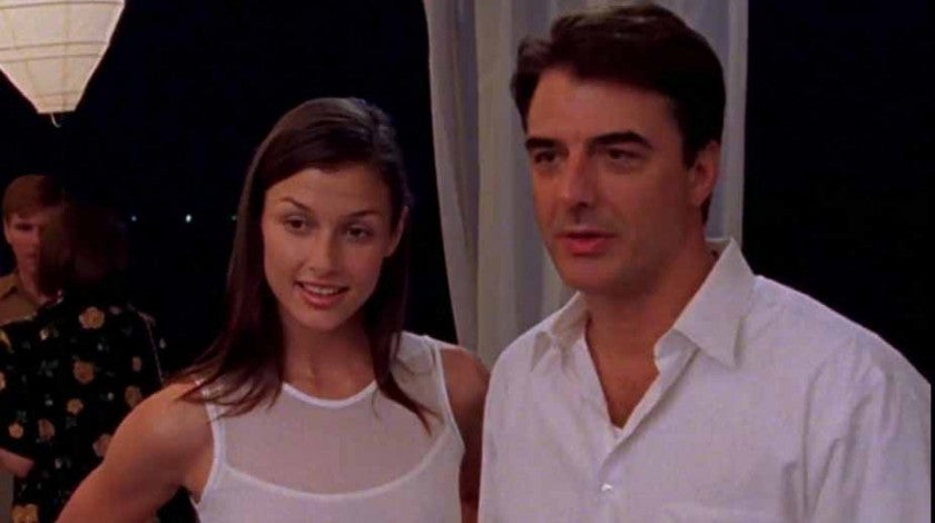 Bridget Moynahan Chris Noth SATC