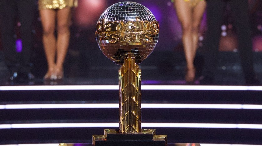 'DWTS' Mirrorball trophy