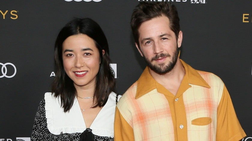 Maya Erskine and Michael Angarano