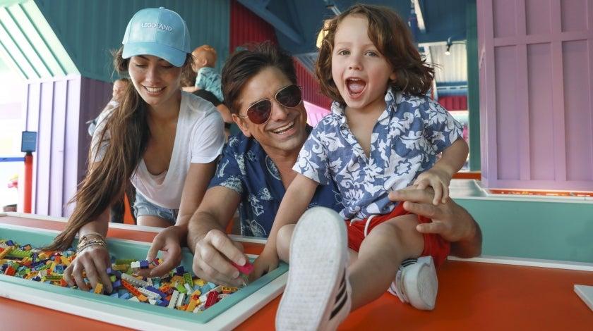 John Stamos Family Legoland