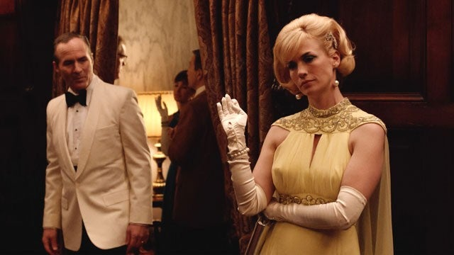 Goodbye Betty Draper Francis A Look Back At Her 7 Most Iconic Mad Men Fashion Moments Entertainment Tonight