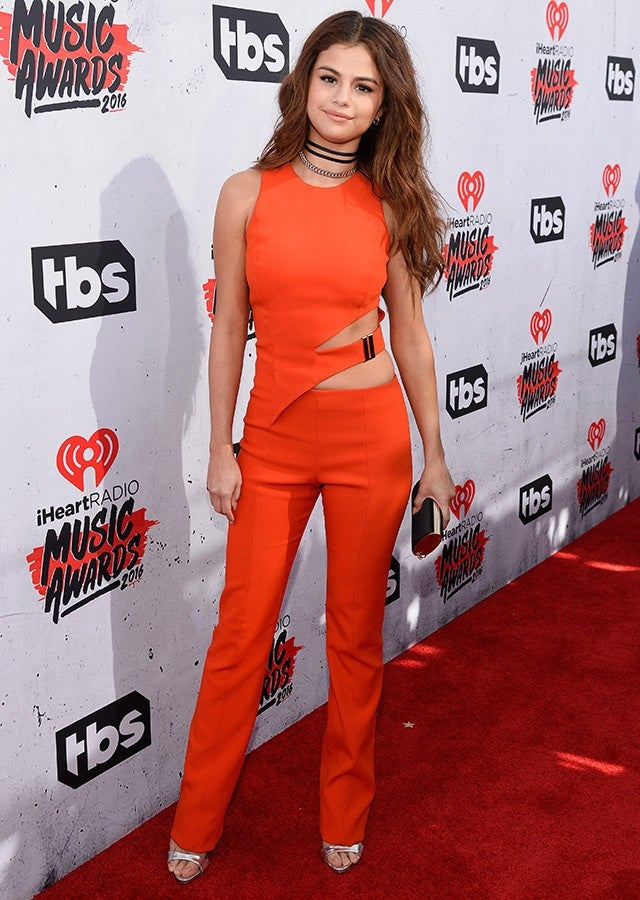 Selena Gomez at the iHeartRadio Music Awards 2016