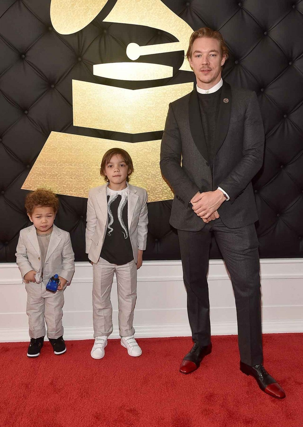Diplo Brings His Completely Adorable Kids To The 2017