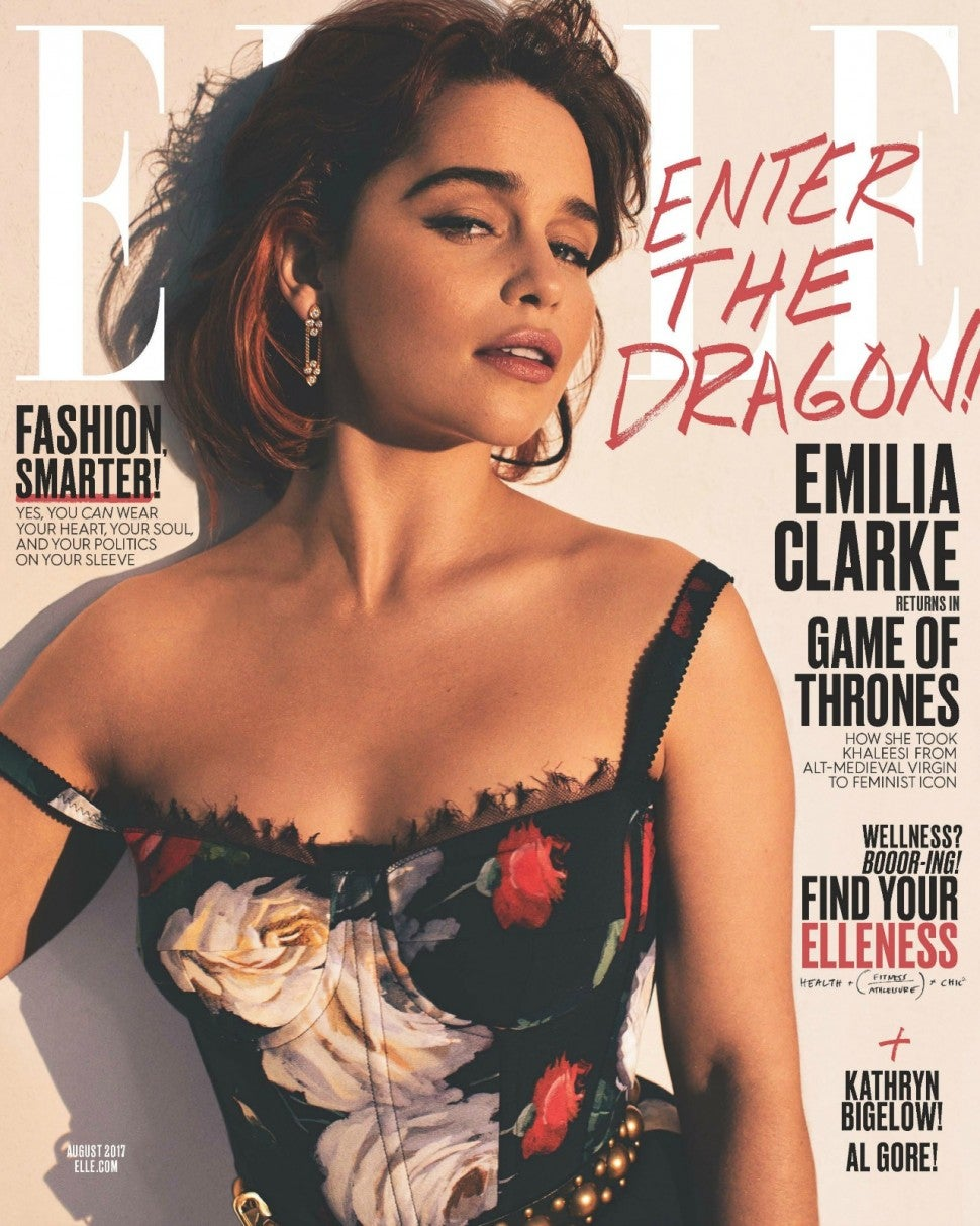 KATCHING MY I: Photo file: Emilia Clarke attends the