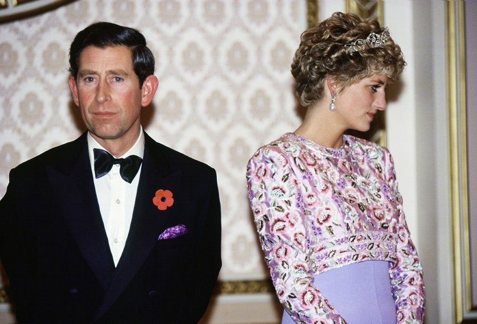 Prince Charles and Princess Diana in South Korea