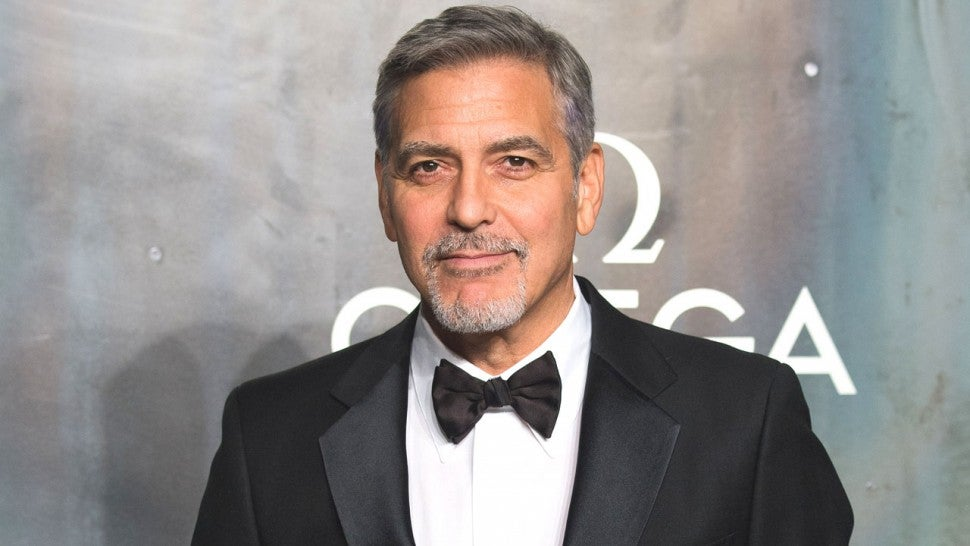 George Clooney at OMEGA Speedmaster event