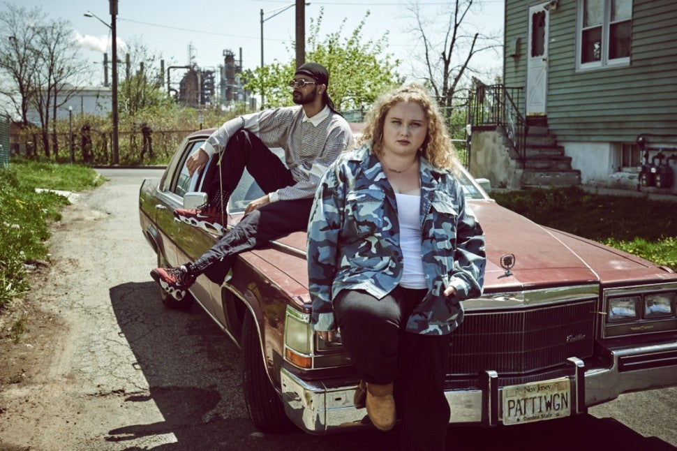 Danielle Macdonald and Siddharth Dhananjay in Patti Cakes