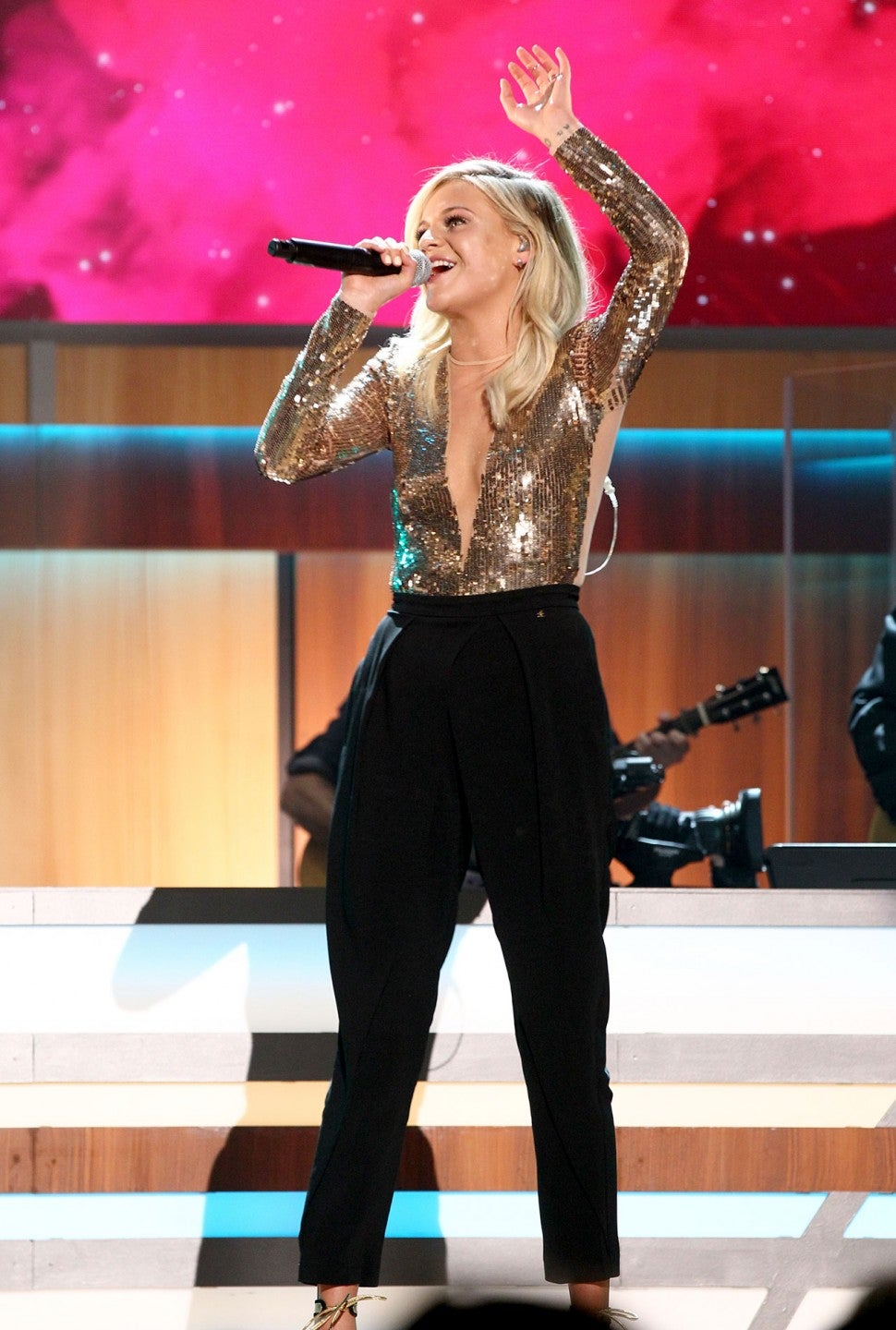 Kelsea Ballerini performing ACM Honors
