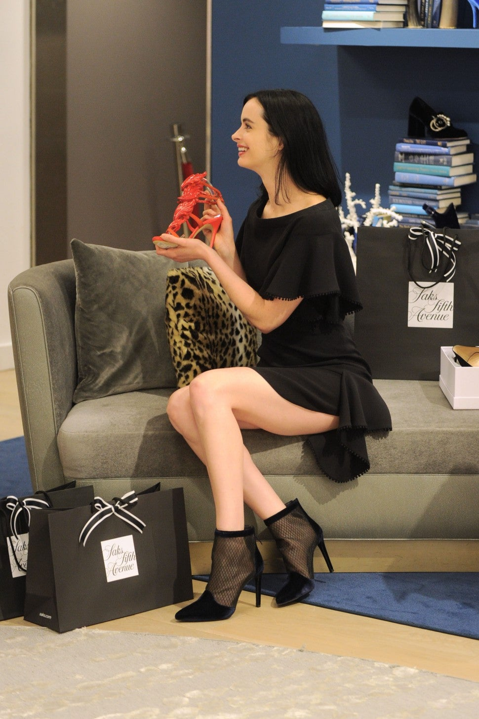 Krysten Ritter at Saks
