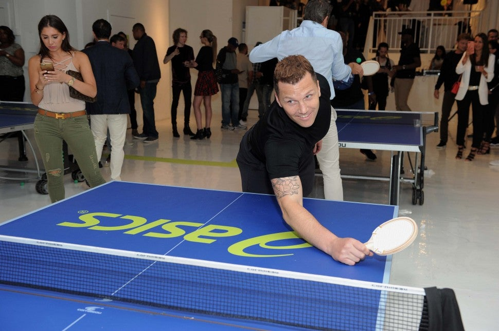 Sean Avery U.S. Open