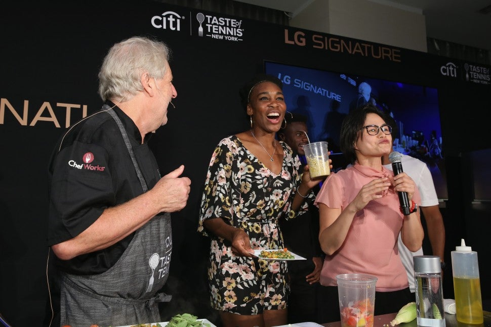 Venus Williams Chef Waxman