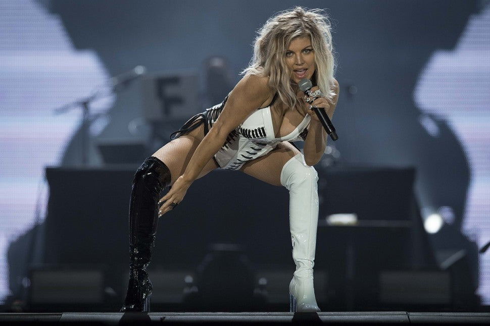 Fergie performs at Rock in Rio