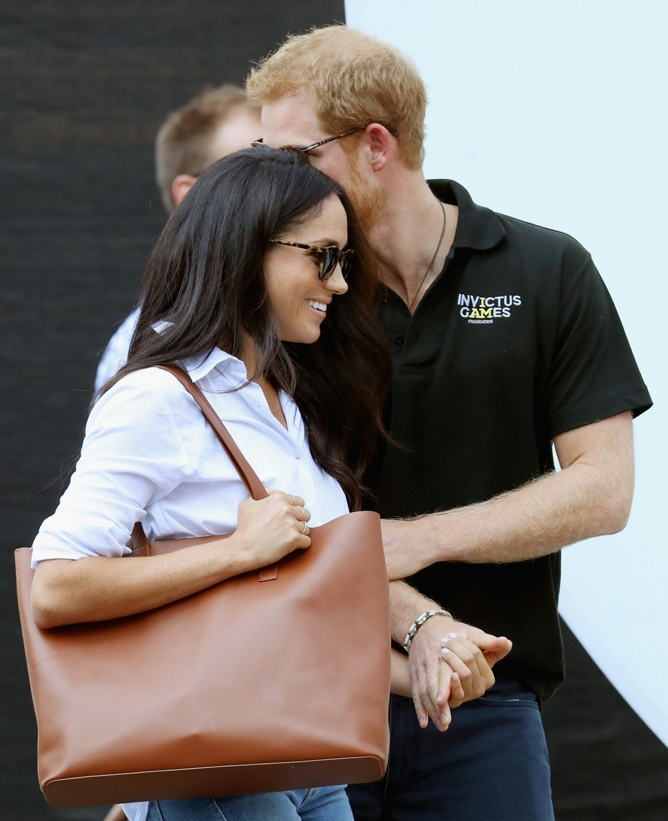 Meghan Markle and Prince Harry at Invictus Games