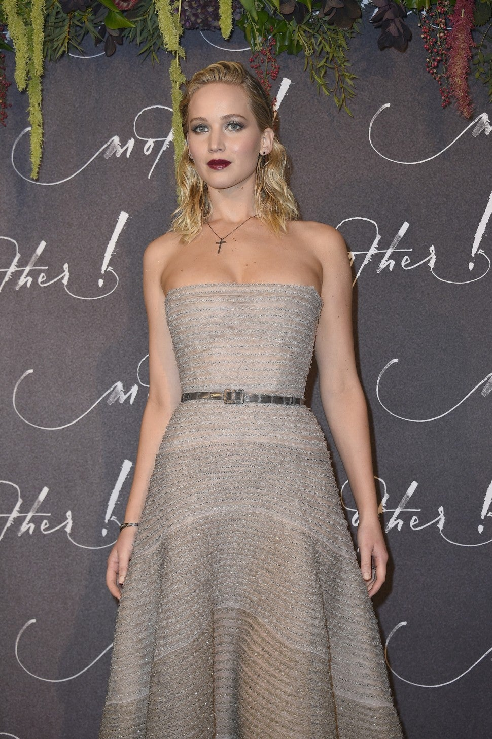 Jennifer Lawrence Mother premiere in Paris