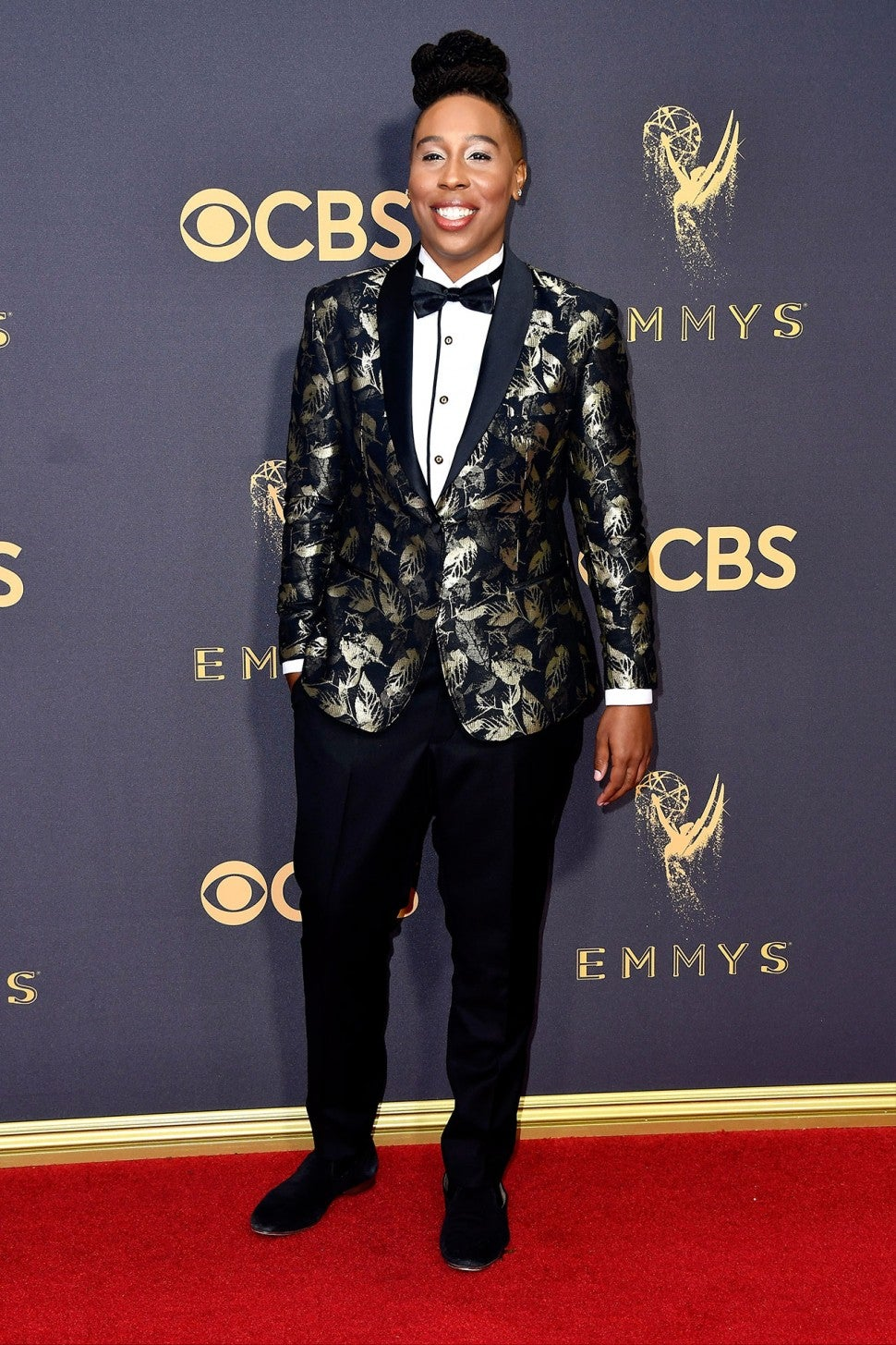 Lena Waithe at 2017 Emmys