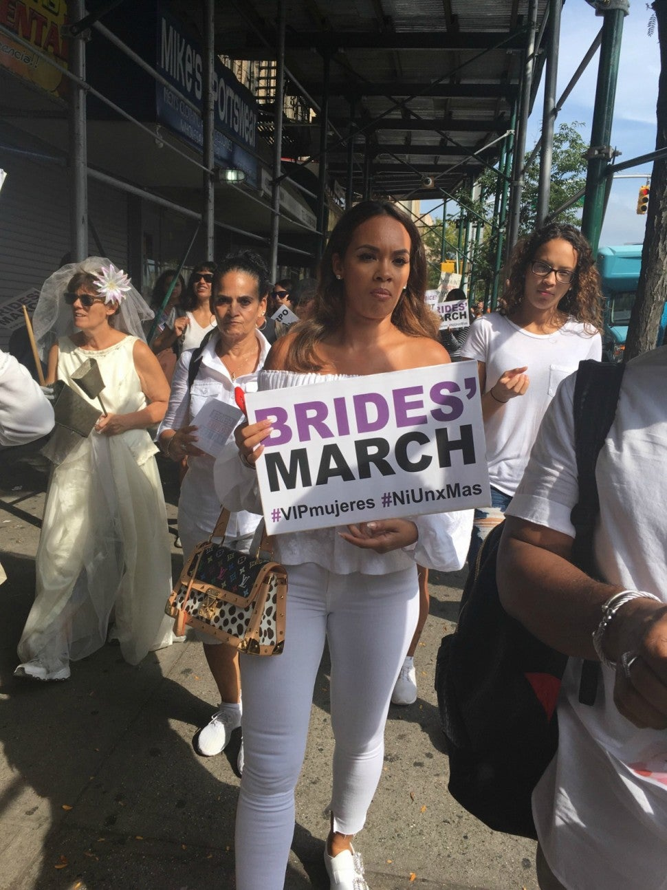Evelyn Lozada Brides March NYC
