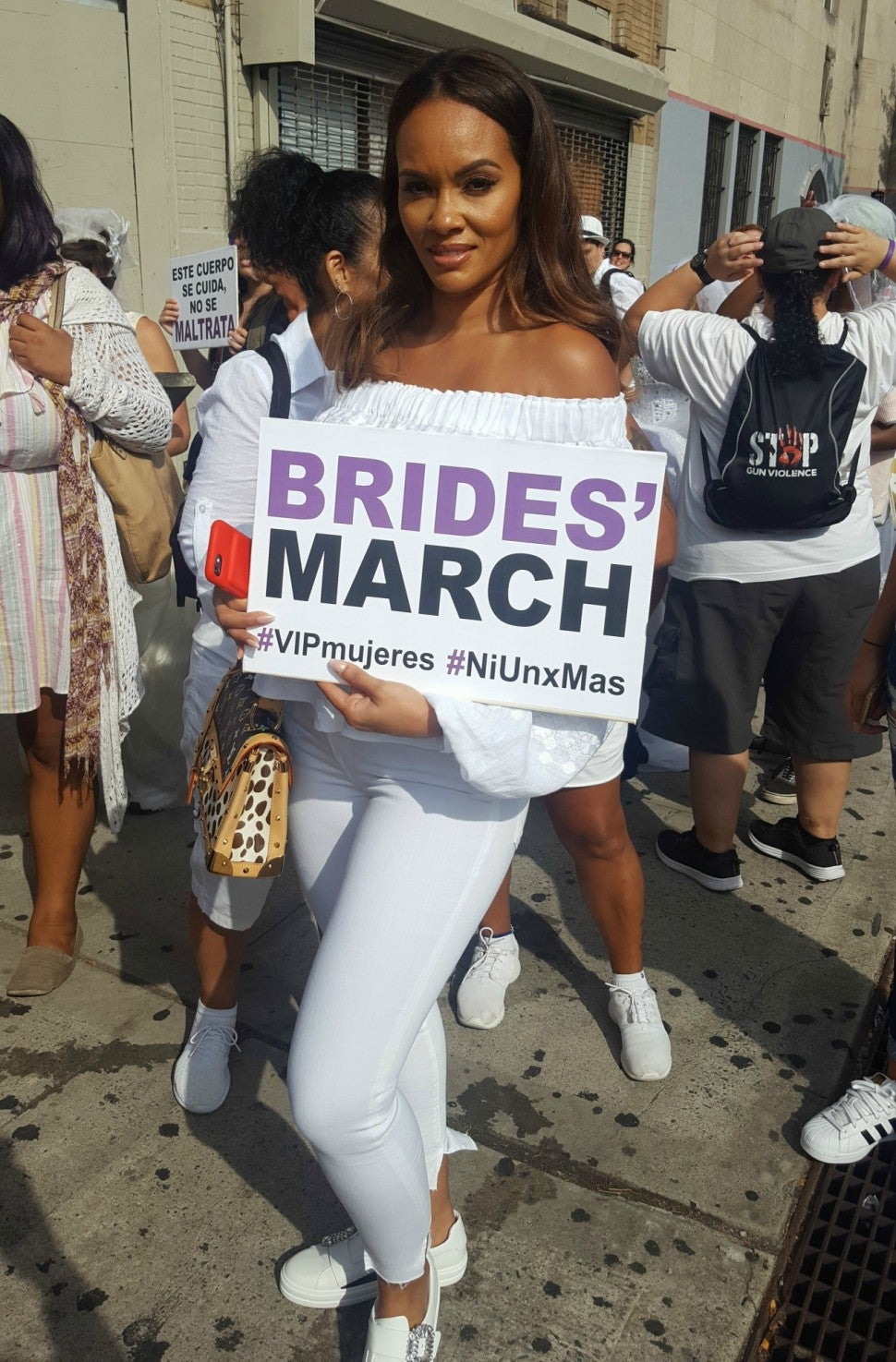 Evelyn Lozada Brides March
