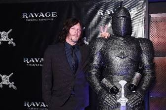 Norman Reedus and a knight