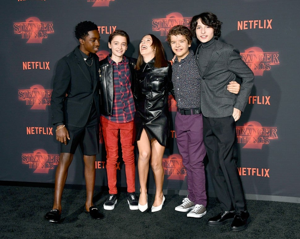 Stranger Things cast at season 2 premiere