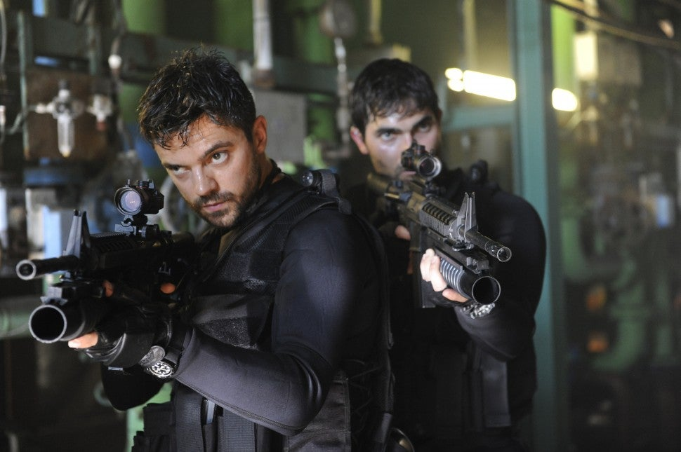 Dominic Cooper in 'Stratton'