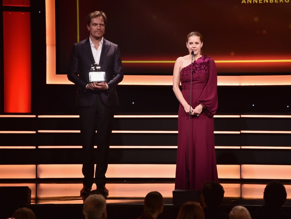 Amy Adams and Michael Shannon at Annual American Cinematheque Awards