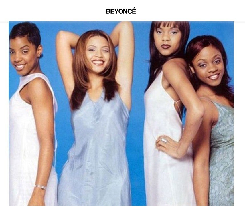 Destiny's Child circa 1997