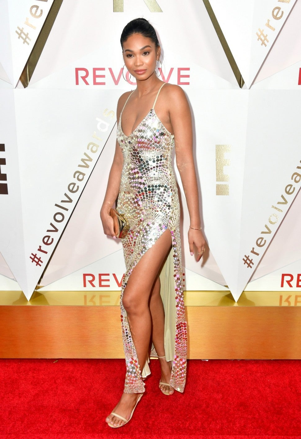 Chanel Iman at #RevolveAwards