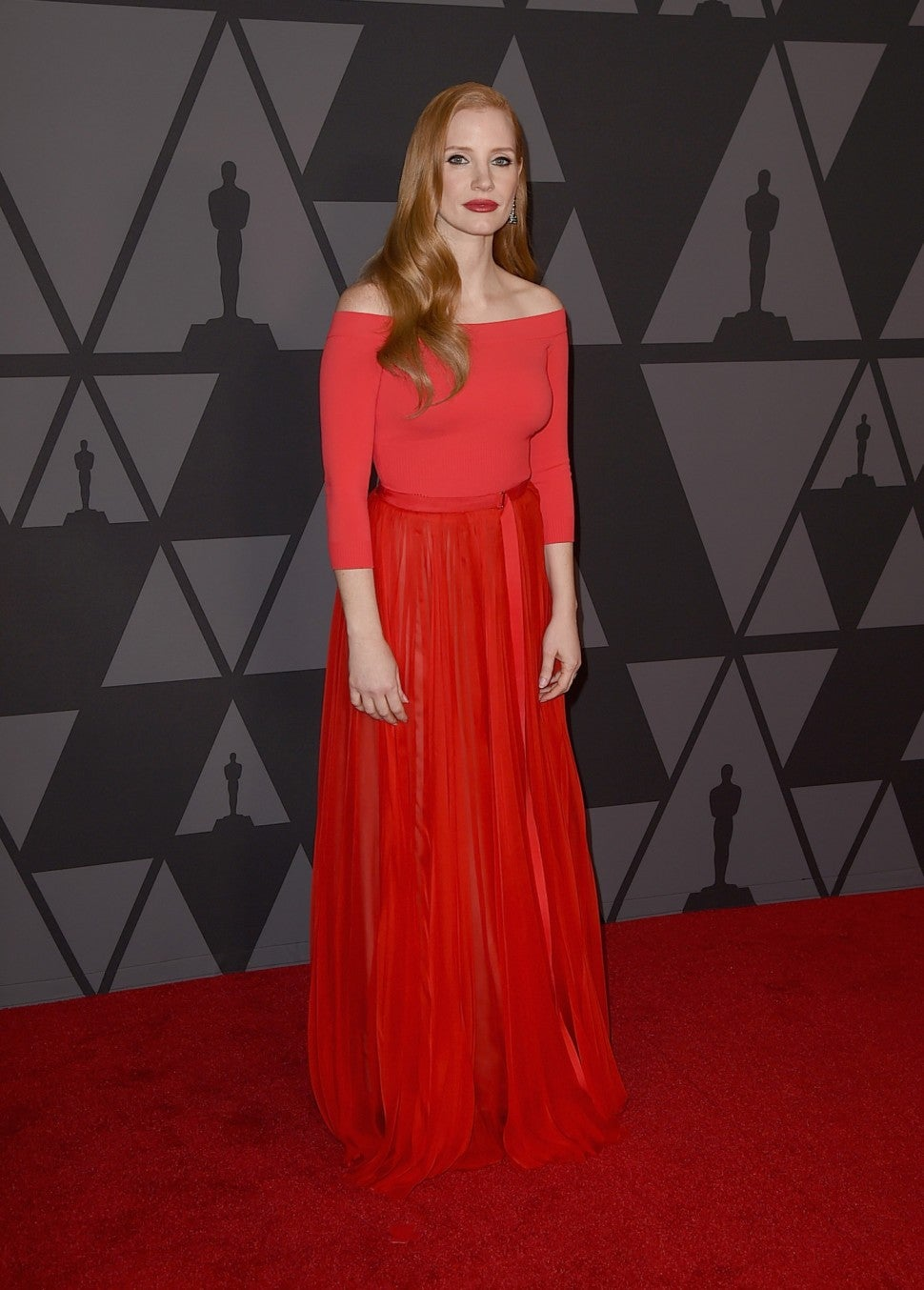 Jessica Chastain Governors Awards
