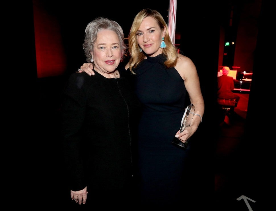 Kathy Bates and Kate Winslet reunite