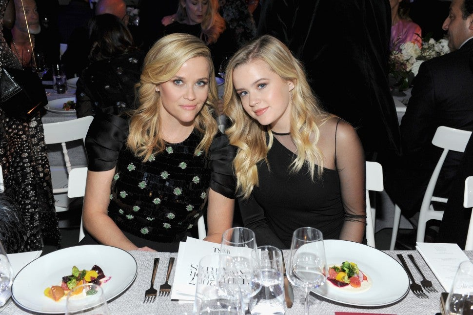 Reese Witherspoon and Daughter Ava at WSJ event