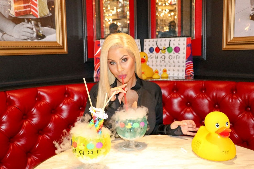 Amber Rose at Sugar Factory
