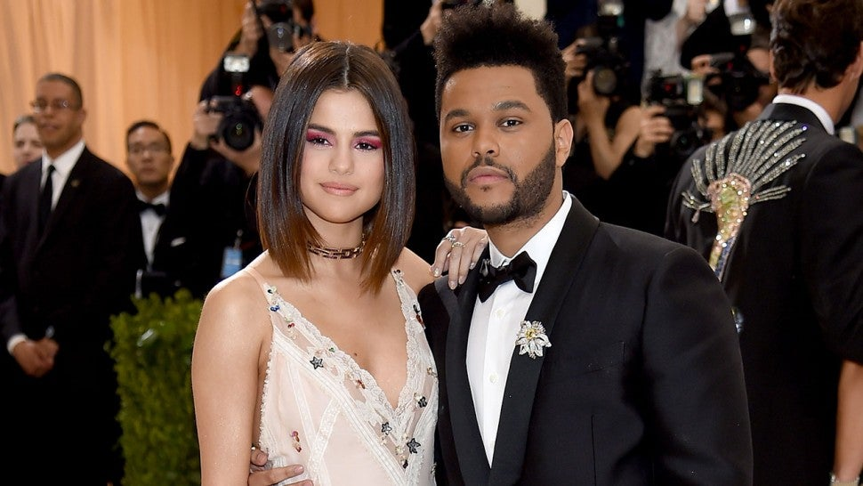 Selena Gomez and The Weeknd at Met Gala 2017