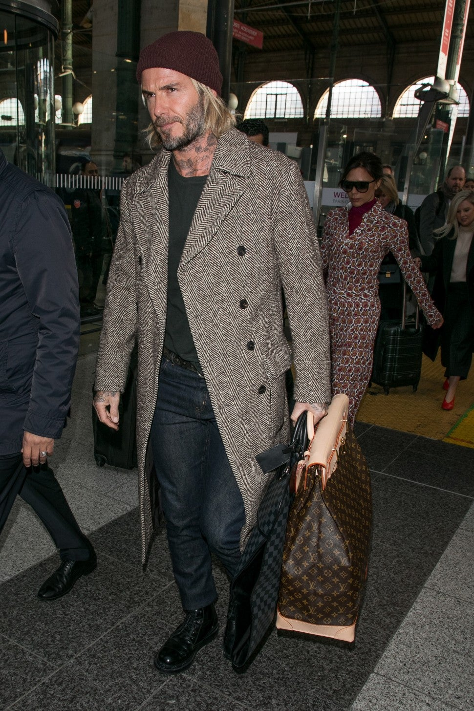 David Beckham in Paris