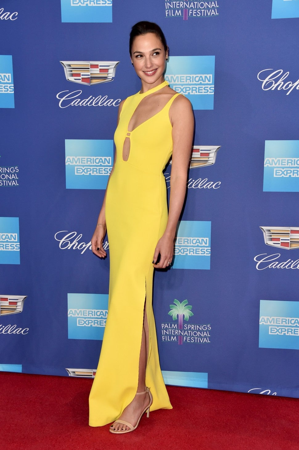 Gal Gadot at 29th Annual Palm Springs International Film Festival Awards Gala