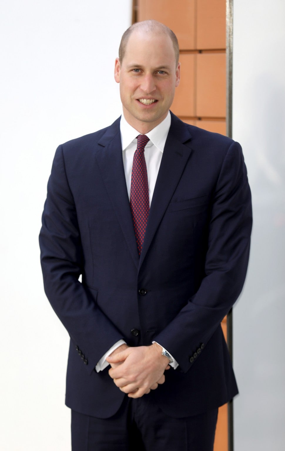 Prince William buzz cut