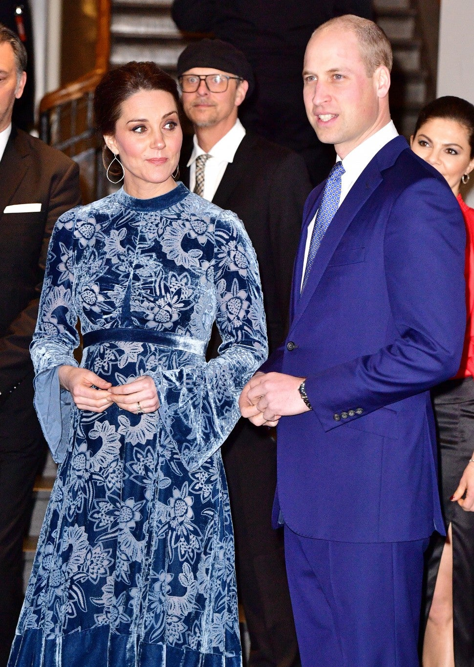 Kate Middleton and Prince William in Sweden